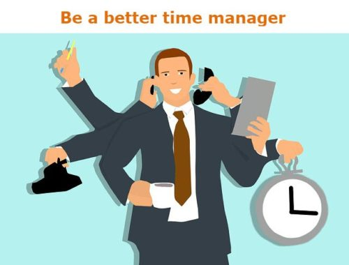 Be a better time manager header