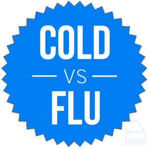 cold versus flu