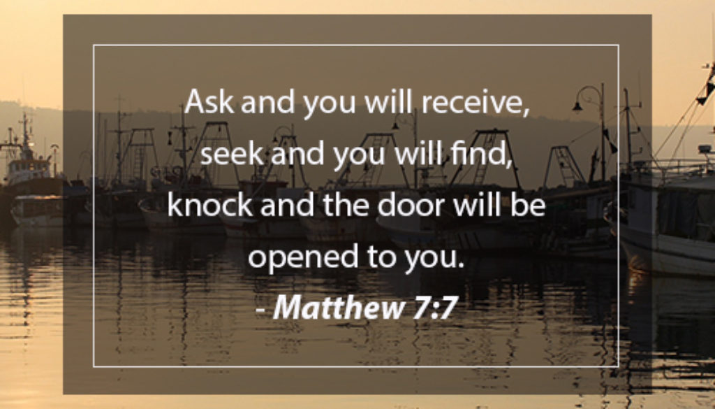 ASK AND SEEK