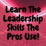 learn the leadership skills the pros use