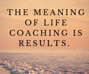 the meaning of life coaching