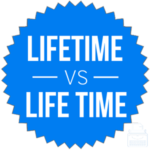 Lifetime or Life time – What's the Difference? – Writing Explained
