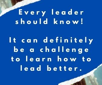 Every leader should know