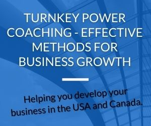 Turnkey Power Coaching - Effective Methods for Business Growth