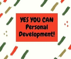 YES YOU CAN Personal Development 4