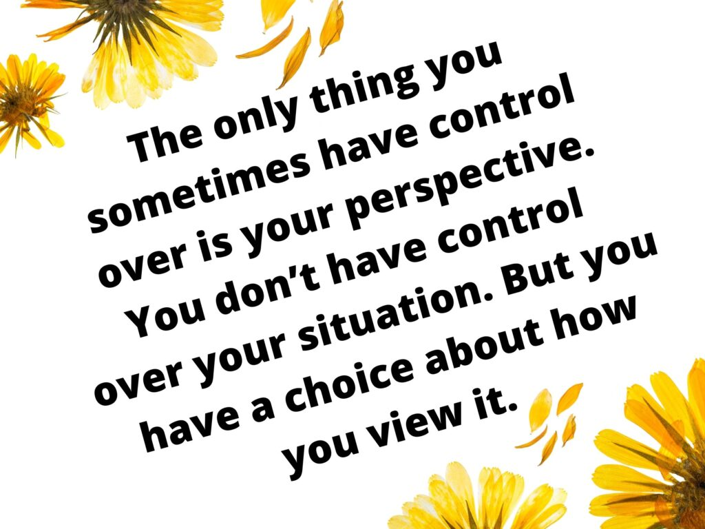 Control your situation