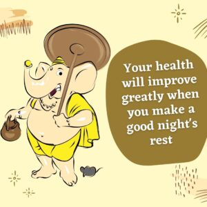 Your health and your outlook will improve greatly when you make a good night's rest